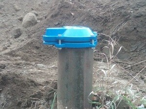 Sanitary Well Cap
